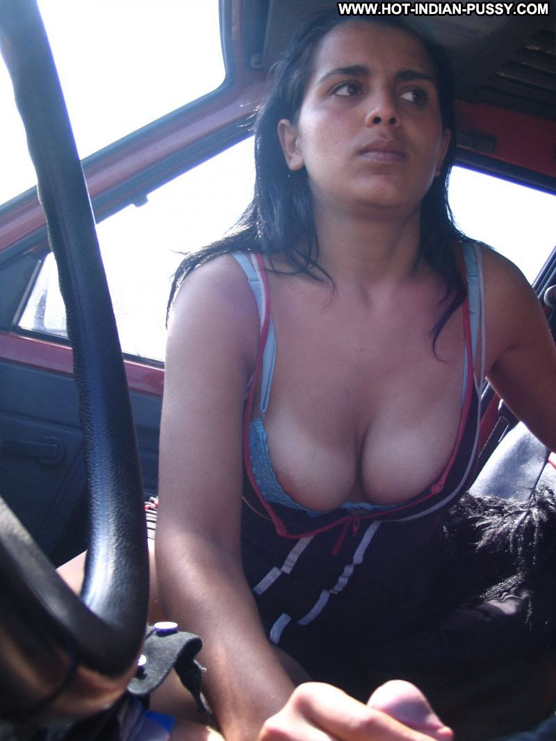 Indian girl naked in car