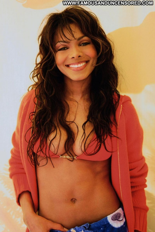 Janet Jackson Babe Sexy Dress Celebrity Singer Cute Posing Hot