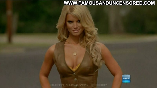 Jessica Simpson Singer Blonde Celebrity Sexy Hot Sexy Dress