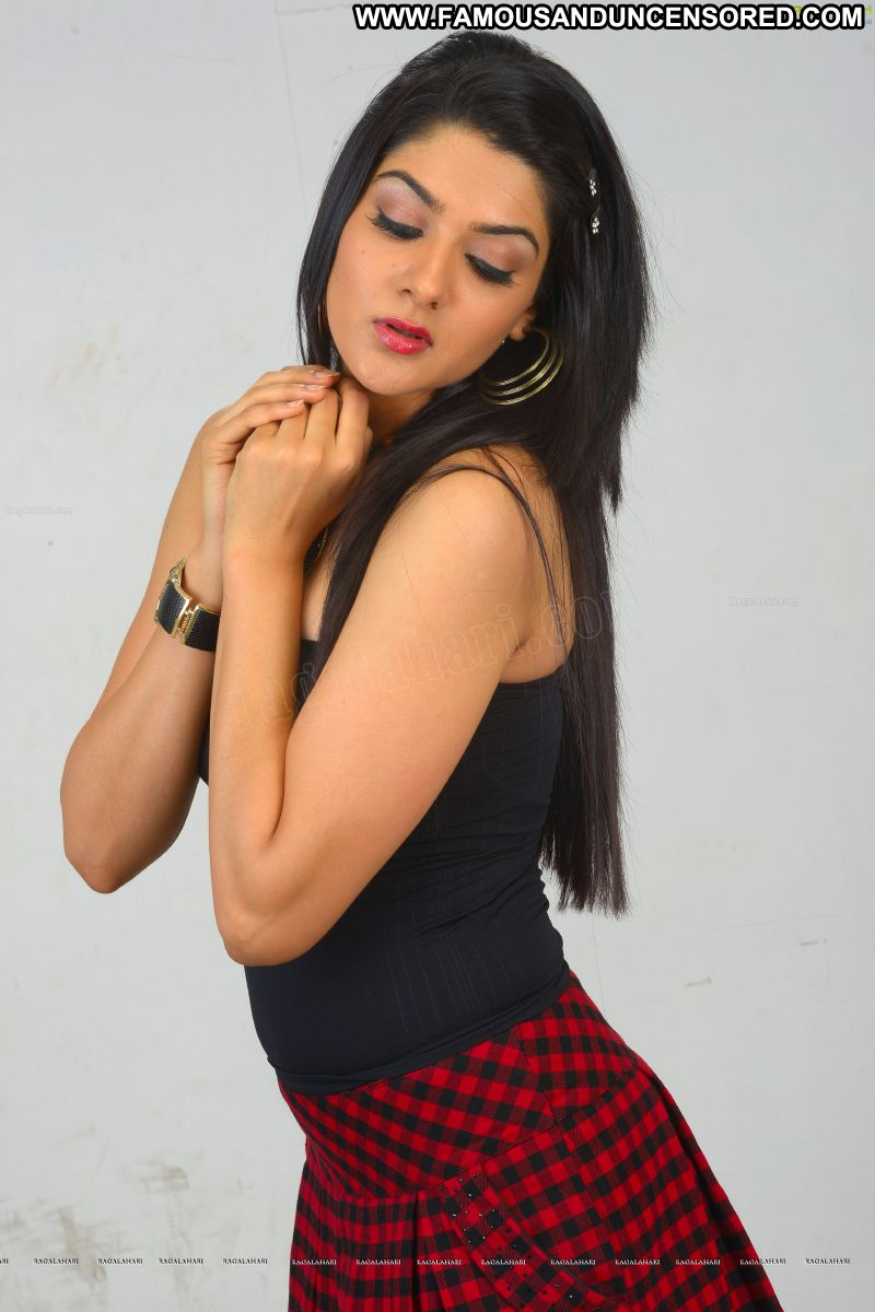 Sakshi Chowdary Celebrity Sexy Indian Babe Posing Hot Fetish Boots Skirt Showing Legs