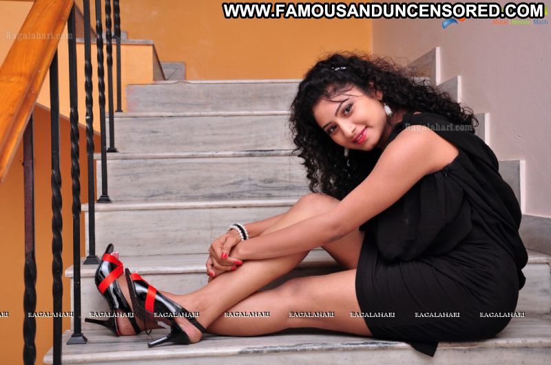 Vishnu Priya Celebrity Sexy Indian Babe Posing Hot Skirt Showing Legs