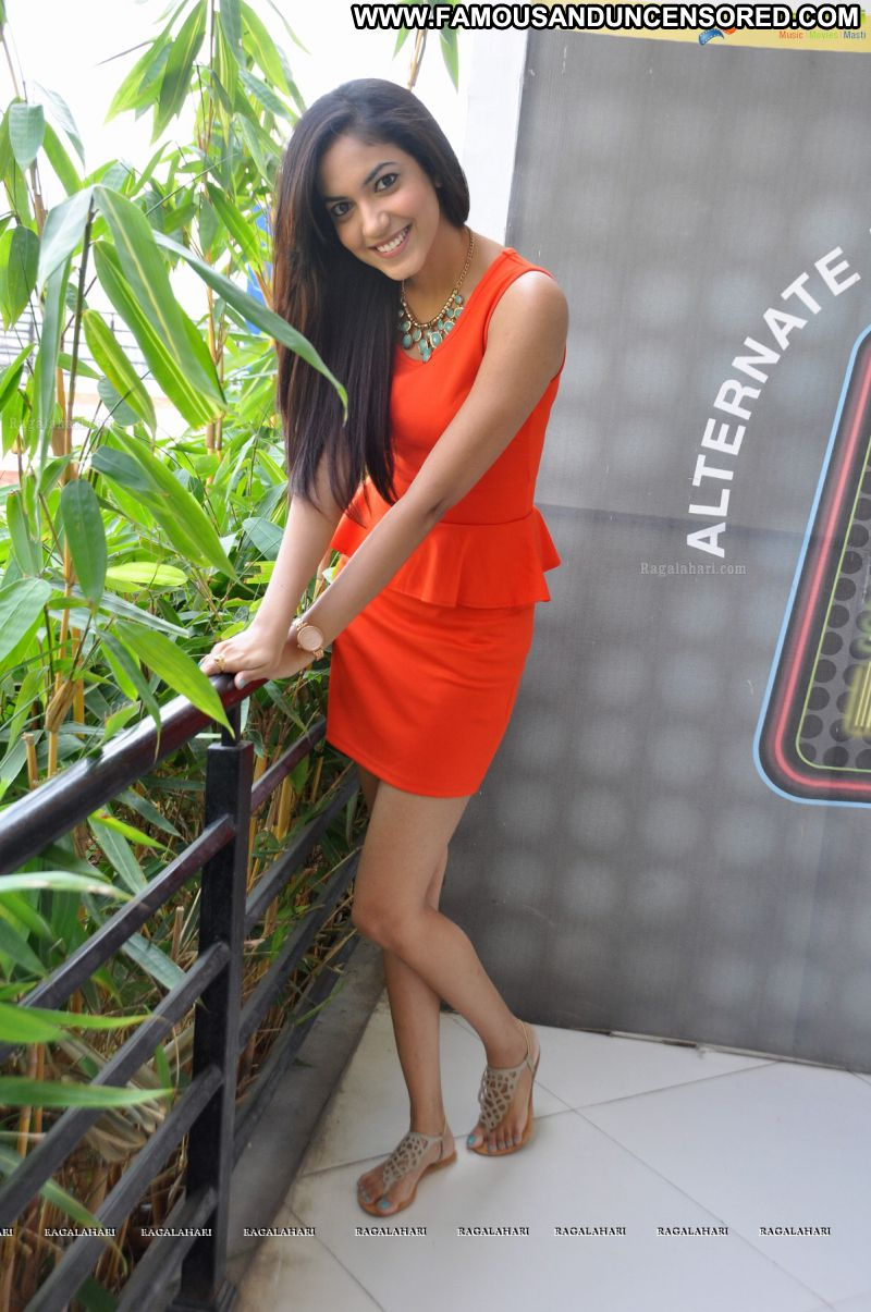 Ritu Varma Celebrity Sexy Indian Babe Posing Hot Skirt Showing Legs