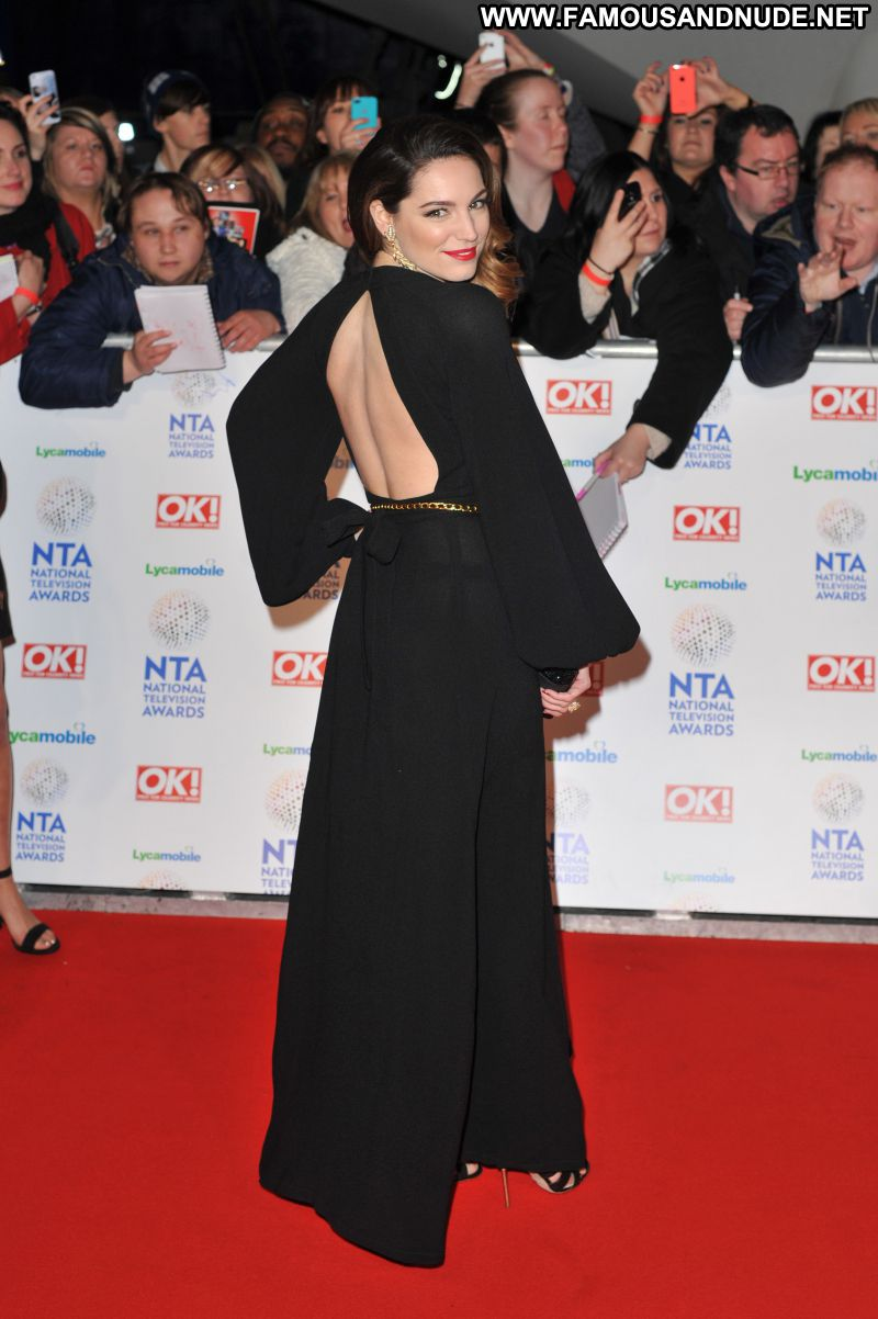 Kelly Brook Celebrity Sexy Big Tits Bombshell National Television Awards In London