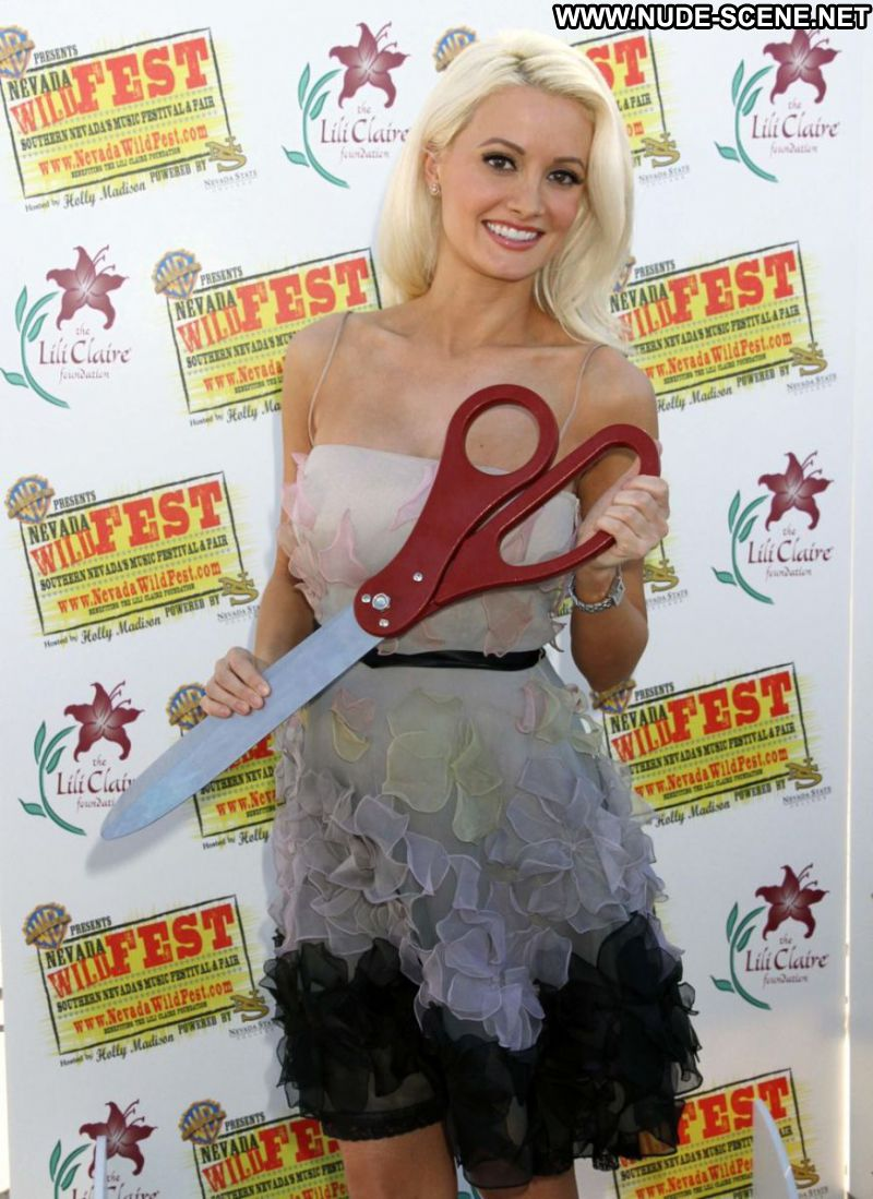 Holly Madison Celebrity Sexy Playmate Blonde Big Tits Georgeous Hot Sexy Dress Showing Legs