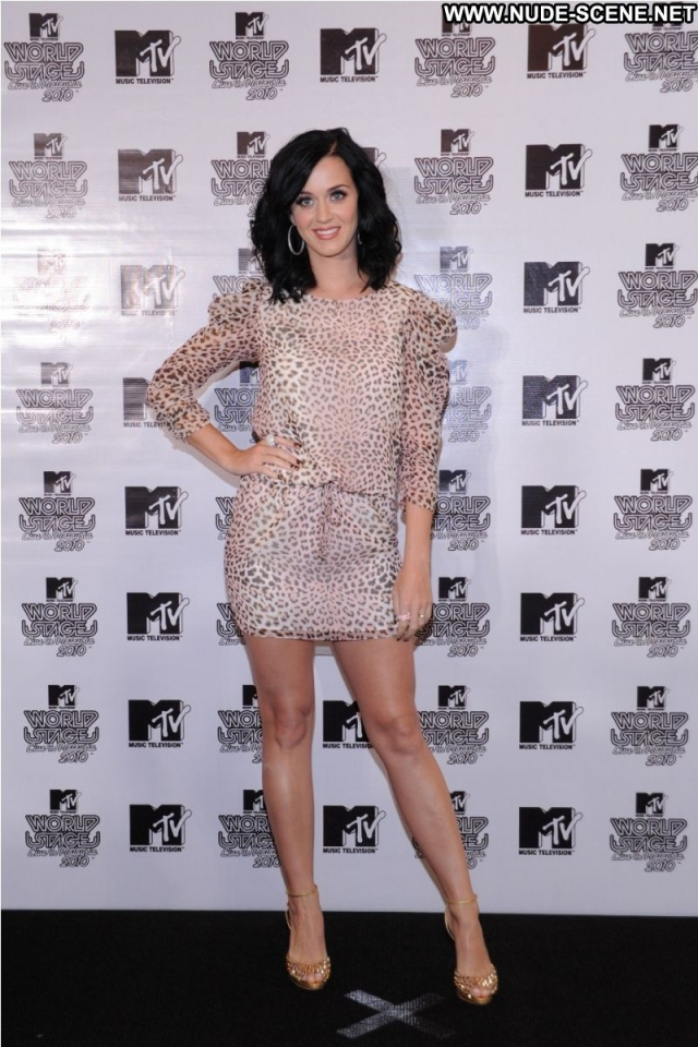 Katy Perry Sexy Posing Hot Celebrity Singer Sexy Dress Brunette Nice