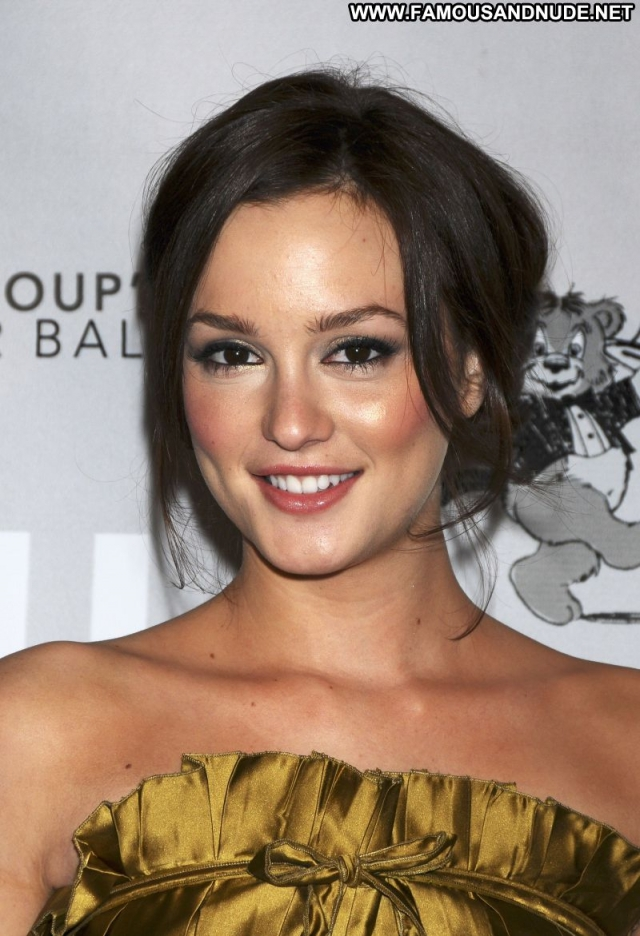 Leighton Meester Sexy Dress Sexy Babe Celebrity Actress Nice Brunette