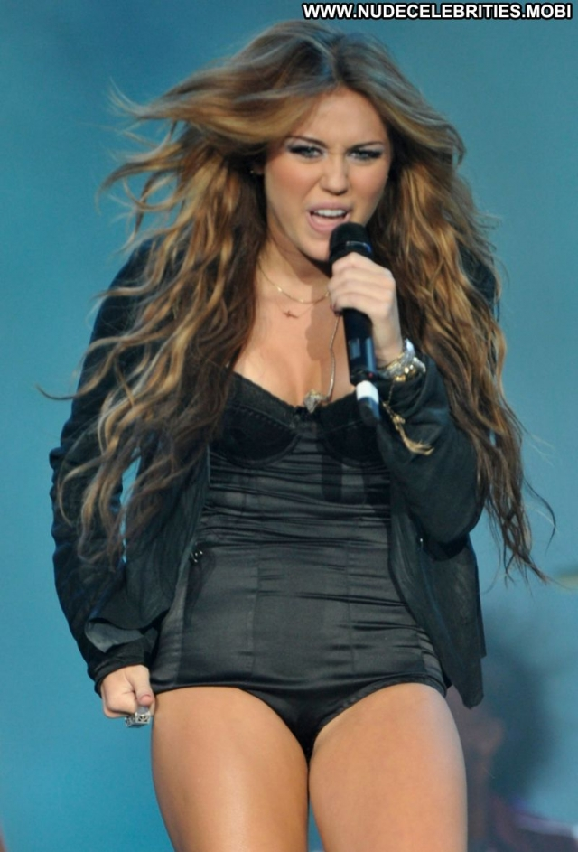 Miley Cyrus Hot Lingerie Singer Sexy Showing Legs Doll Celebrity
