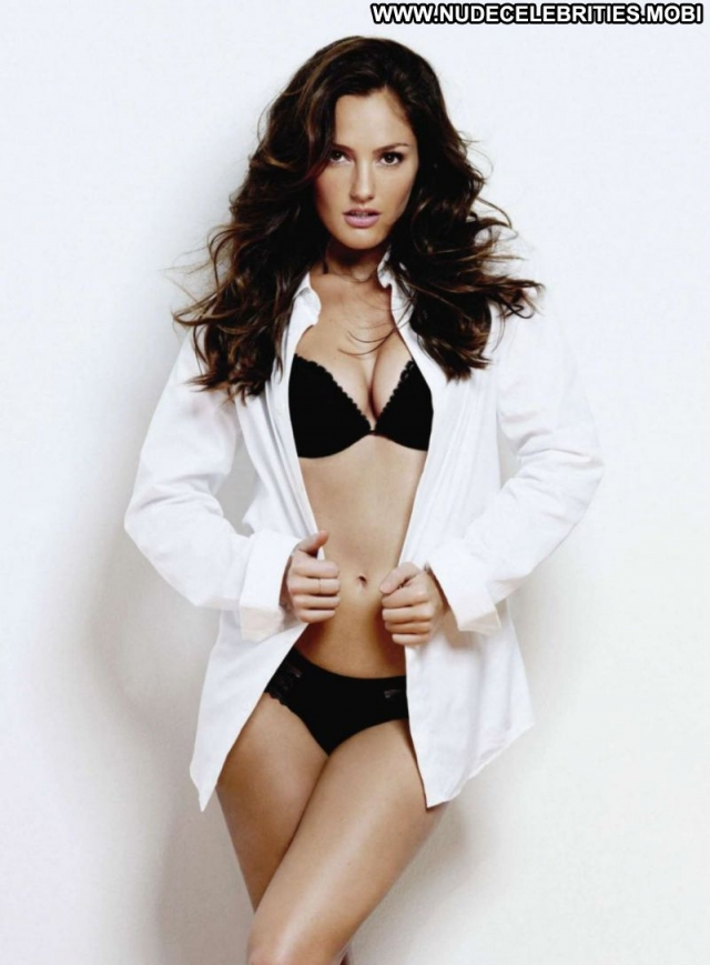 Minka Kelly Georgeous Beautiful Lingerie Brown Hair Sexy Showing Legs