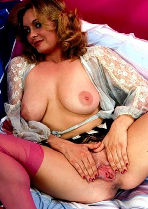 Eloisa Garter Belts Nylon Vintage Porn Retro Stockings Model