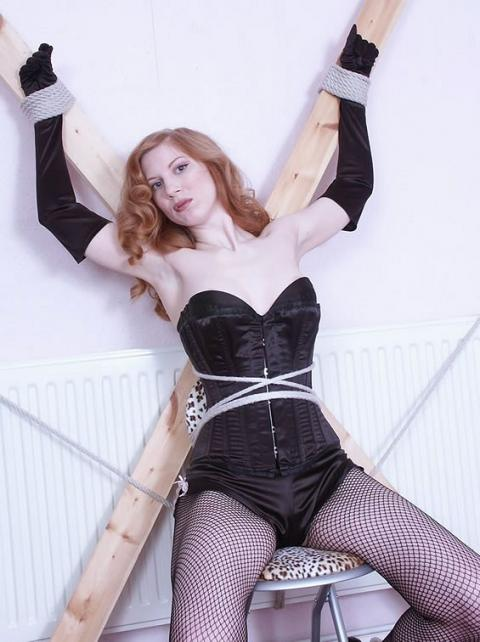 Leora Tied Up Humiliation Terror Kinky Bdsm Fetish Model Hot