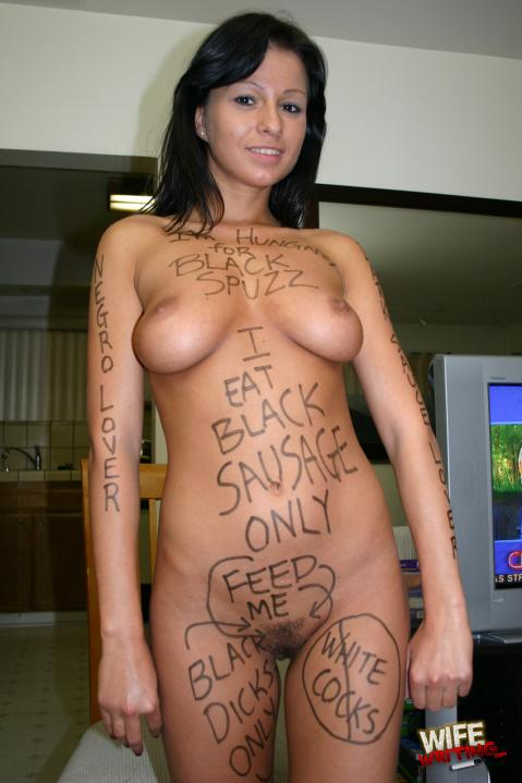 Body writing porn picture