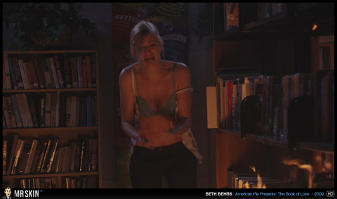 Beth Behrs The Book Of Love Babe Sexy Scene Small Tits Actress