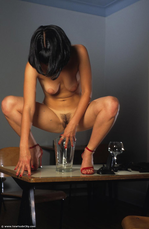 Maria Peeing Art Nude Hairy Pussy Erotic Small Tits Sex Toys