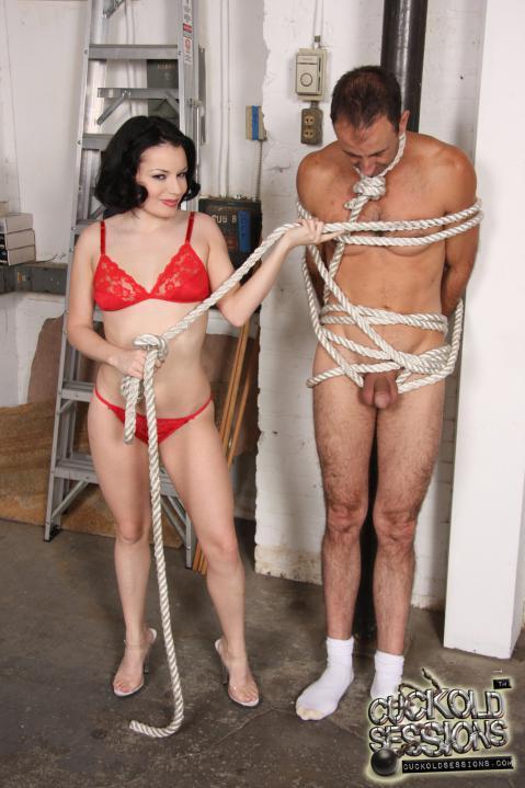 Tatianna Kush Humiliation Couple Interracial Showing Pussy