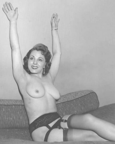 Softcore retro posing