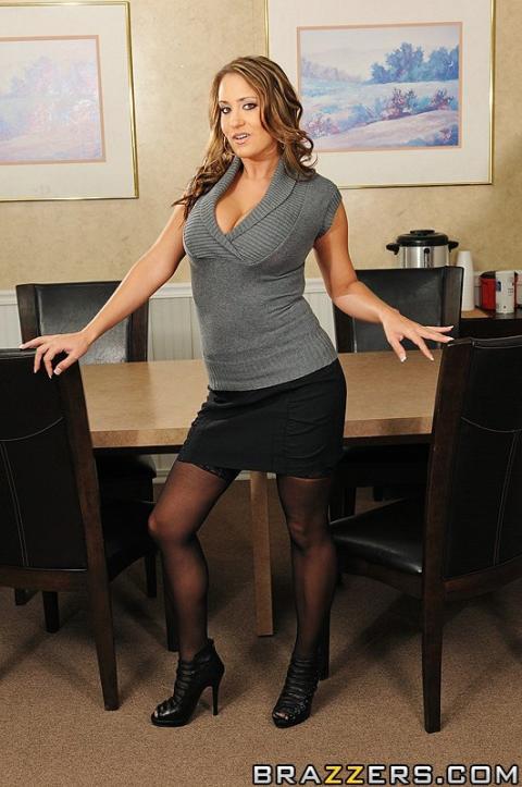 Trina Michaels Executive Woman Panties Bra Office Reality Hd