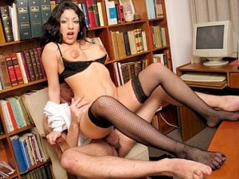Fucking online with the secretaries