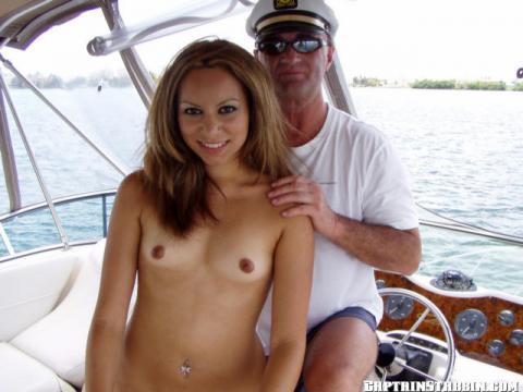 Trish Close Up Yacht Outdoors Ass Fuck Posing Hot Very Horny