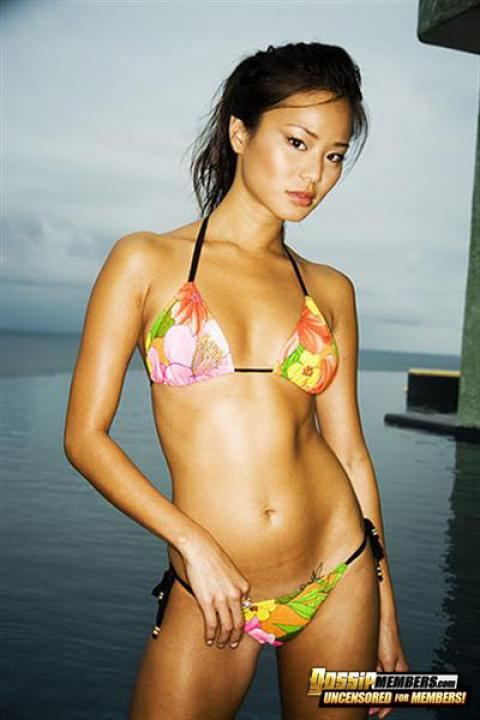 Jamie Chung Nude Sexy Scene Ethnic Asian Athletic Slender