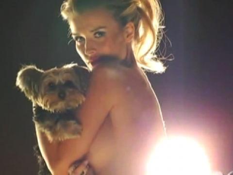 Imogen Thomas Nude Sexy Scene Paparazzi Softcore Slender Hot
