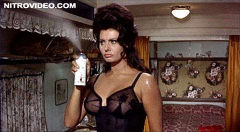 Sophia Loren Boccaccio 70 Celebrity Posing Hot Hot Sexy Cute