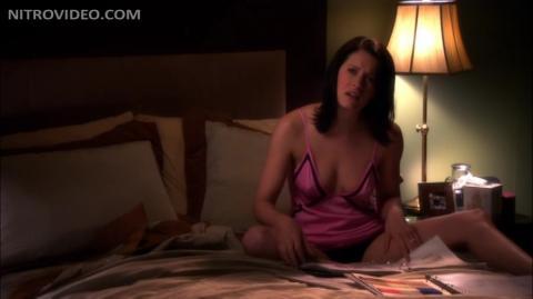 paget brewster sex scene