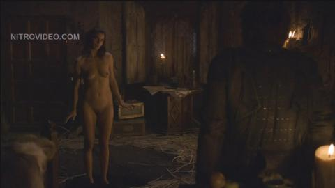 Natalia Tena Nude Scene Game Of Thrones Showing Tits Female