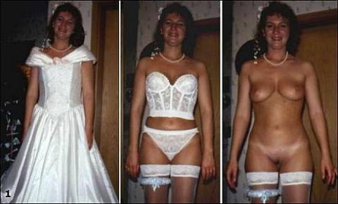 fat naked wedding night