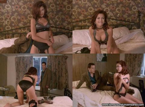 Kari Wuhrer Teasing Panties Bra Posing Hot Celebrity Famous