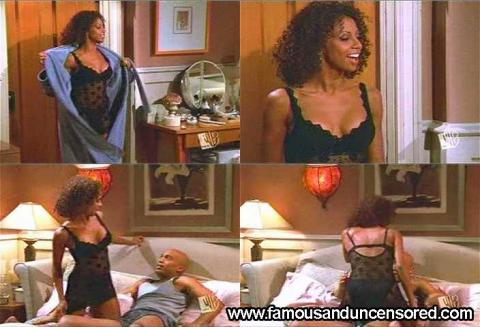 Holly Robinson Peete Floor Lingerie Bed Nude Scene Actress