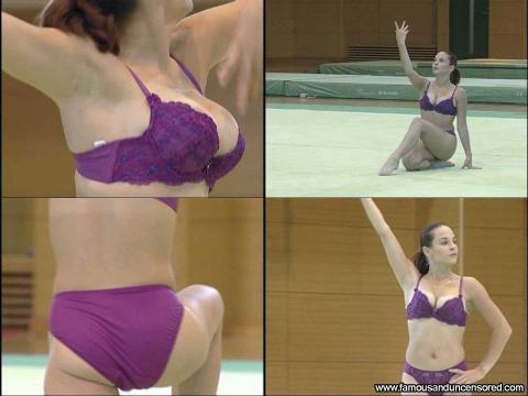 Corina Ungureanu Nude Sexy Scene Romanian Gymnast Gym Omani