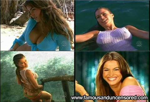 Sofia Vergara Nude Sexy Scene Swimsuit See Through Model Wet