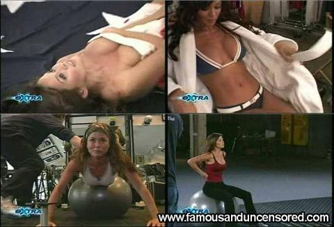 Brooke Burke Nude Sexy Scene Extra Workout Train Couple Cute