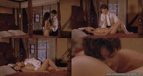 Karina Lombard Nude Sexy Scene Wide Sargasso Sea Sea Bar Bed