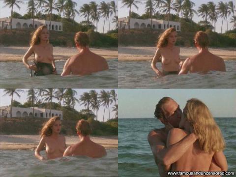 Greta Scacchi Nude Sexy Scene White Mischief Braces Ocean Hd