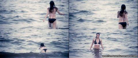 Olivia Thirlby Nude Sexy Scene Ocean Jumping Bikini Actress