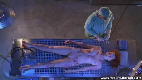 Angie Everhart Nude Sexy Scene Jade Doctor Table Bus Legs Hd