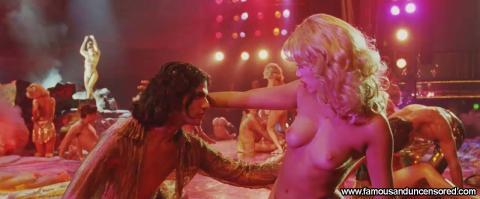 Elizabeth Berkley Nude Sexy Scene Showgirls Stairs Topless