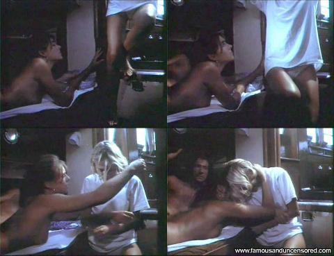 Elizabeth Hurley Nude Sexy Scene Kill Cruise Stairs Panties