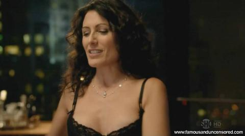 Lisa Edelstein Nude Sexy Scene House Of Lies Desk Shirt Bra