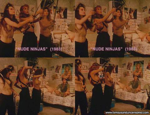 Monique Parent Ninja Topless Nude Scene Actress Gorgeous Hd