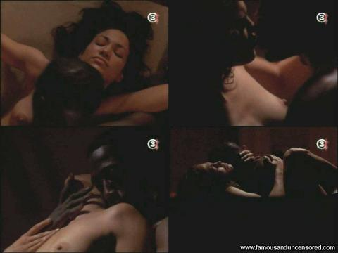 Lesbians having sex with strap on