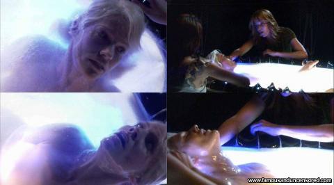 Tricia Helfer Nude Sexy Scene Battlestar Galactica Park Pool