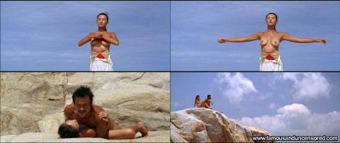 Monica Mok Nude Sexy Scene Ocean Bar Bikini Beautiful Female