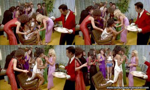 Pam Grier Nude Sexy Scene Coffy Party Chair Posing Hot Doll