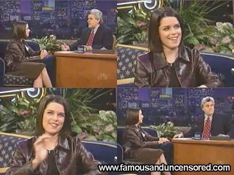Neve Campbell The Tonight Show With Jay Leno Rich Wild Party