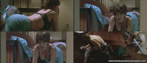 Carla Gugino Nude Sexy Scene Judas Kiss Floor Emo Legs Car