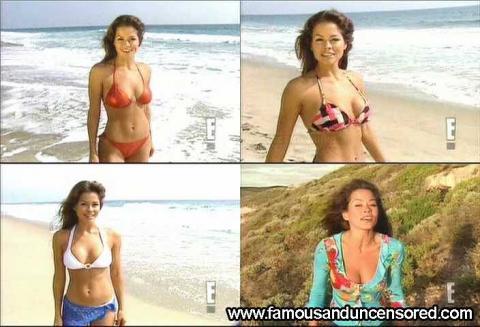 Brooke Burke Nude Sexy Scene Wild On Wild Bikini Gorgeous Hd