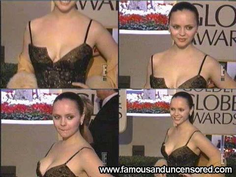 Christina Ricci Nude Sexy Scene Red Carpet Hat Car Gorgeous