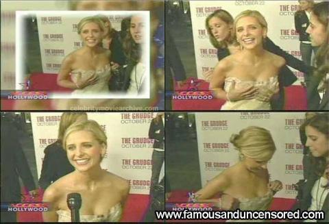 Sarah Michelle Gellar Nude Sexy Scene Access Hollywood Cute